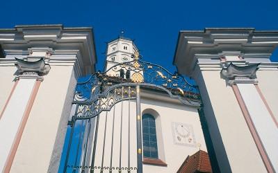 Barockportal der Kirche St. Martin